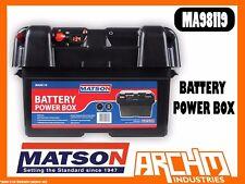 MATSON MA98119 - BATTERY POWER BOX - PORTABLE DIGITAL VOLTAGE USB AMP