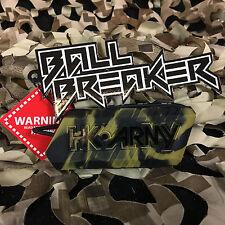 New Hk Army Ball Breaker 2.0 Barrel Cover Sock Plug Condom - Sandstorm Black/Tan