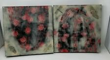 Encaustic Wax Art Pieces - Daisy MConnell 2007 - 2   - Lepidopterm - Signed