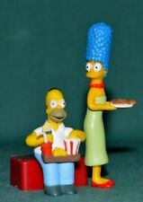 Bart & Marge Simpson from a Fast Food / Cereal packets