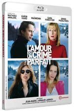 Love Is The Perfect Crime (2013 L'Amour Est Un Crime Parfait) Blu-Ray IMPORT NEW