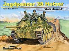 Squadron/Signal Walk Around 27027 - Jagdpanzer 38 Hetzer - NEW