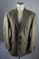 Harris Tweed vintage Sakko jacket Blazer Schurwolle Gr. Eur 50  40 Short 102