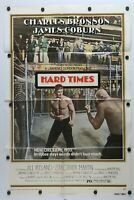 "Hard Times 1975 Single Sided Original Movie Poster 27"" x 41"""