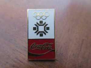 Coca-Cola Pin Sarajevo 1984 Olympia Olympische Spiele Winterspiele Olympics