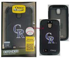 OtterBox Defender Case for Samsung Galaxy S4, MLB Colorado Rockies, 77-36396