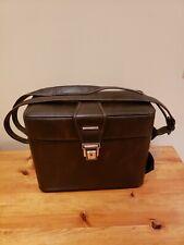 Vintage Dslr Camera Bag Field Case Hard Leather Strap used for minolta xg-1