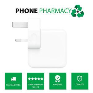 Genuine Original 12w Apple Fast Main Wall Charger Adapter Plug A1401 iPhone iPad
