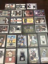 (25) Baseball Game Jersey Patch Bat Hall Of Famer Star Lot - ALL GU ALL Stars !!