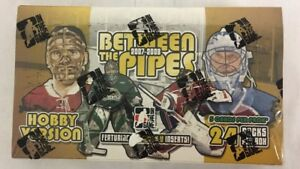 2007-08 In The Game Between the Pipes Hockey Hobby Box Factory Sealed 24 Pack