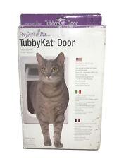 """Perfect Pet TubbyKat Door with 4 Way Lock, 7.5"""" x 10.5"""""""