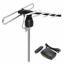 HDTV Antenna, 1byone Outdoor HD TV Antenna with 85 Mile Range, Remote Control wi