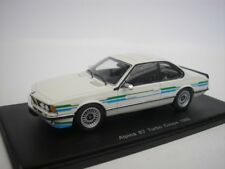 1 43 Spark BMW alpina B7 Turbo B12 Coupe 1985 White