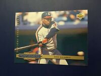 1993 Upper Deck # 314 ALBERT BELLE Performances Cleveland Indians Great Card !