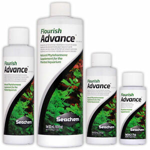 Seachem Flourish Advance Aquarium Plant Fertiliser Growth Enhancer Fish Tank
