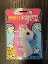 New - Unicorn Power Bank Portable Charger - 2600 Mah