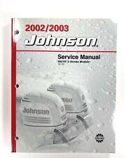 2002 / 2003 Johnson SN/ST 40 50 HP 2 Stroke Service Manual 5005464