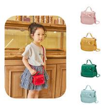 Kids Wallet Messenger Bags Shoulder Handbag Bow Crossbody Girls Purse Bag PU