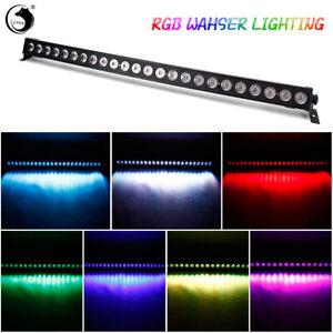 RGB 24*3W LED Bühnenbeleuchtung Wall Washer Licht Bar DMX Disco Party Show Club
