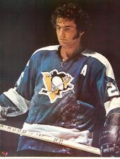 Vintage Original 1973 SYL APPS Pittsburgh Penguins Portnoy Series NHL POSTER