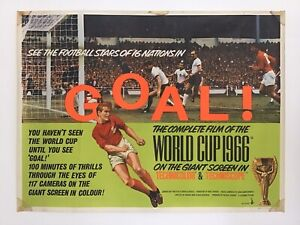 Goal! The World Cup 1966 - Original Poster