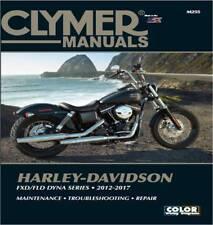 Harley-Davidson FXD FLD Dyna Street Bob Fat Bob Super Glide Clymer Manual M255