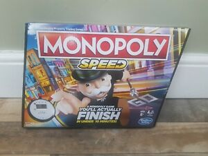 Monopoly Speed Board Game. Play Monopoly In Less Than 10 Minutes. Brand New