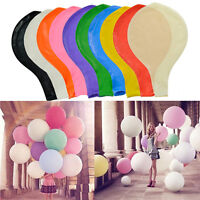 2/5/10pcs 36'' 90cm Large Giant Big Latex Balloon Wedding Party Helium Air Decor