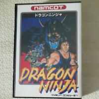 Dragon Ninja Famicom FC Namco Used Japan Action Game 1989 Boxed Tested Working