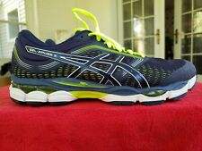 Asics 1011A552 400 Gel Ziruss 3 Blue Expanse/Sour Yuzu Men's Running Shoes. Sz9