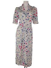 abito donna ginocchio avorio vintage anni 70 taglia s / m small medium