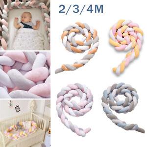 2-4M Nestchen Kopfschutz Knotenkissen Bettschlange Baby Farbe Babynestchen