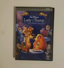 Lady and the Tramp     (2 DVD set, 2006)  Disney  Children's  Platinum Edition