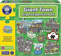 Orchard Toys GIANT TOWN AIRPORT EXPANSION PACK Educational Game Puzzle BN