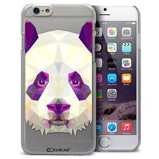 Coque Housse Etui Pour iPhone 6 Plus 5.5 Polygon Animal Rigide Fin  Panda