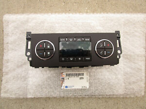 11 - 13 GMC YUKON XL 1500 2500 A/C HEATER CLIMATE TEMPERATURE CONTROL NEW
