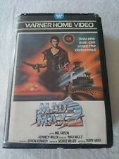 Mad Max 2 Small Box Betamax Video Tape Cassette