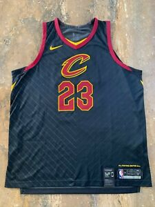 Nike Lebron James Cleveland Cavaliers Jersey AUTHENTIC AEROSWIFT, black 2XL(56)