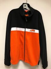 KTM Racing Motocross MX SX Team Fleece Zip Up Sweatshirt XL NEW AUTHENTIC