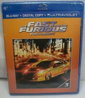 BRAND NEW SEALED THE FAST AND THE FURIOUS TOKYO DRIFT BLU-RAY DVD & DIGITAL COPY