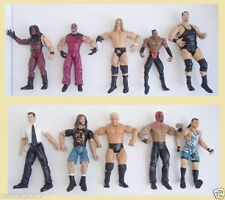 Wrestling Mixed Lot Action Figures without Packaging