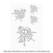 'Steampunk Motif' Temporary Tattoos (TO020032)