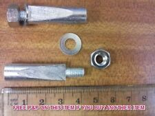 PAIR COTTER PINS IDEAL FOR MOULTON CYCLES STANDARD 9.5mm MILLED NEW OLD STOCK