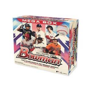 🔥2021 Topps MLB Bowman Baseball Mega Box - CONFIRMED ORDER🔥