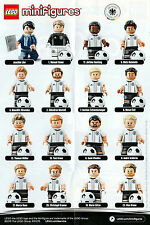 Complete Set Lego Minifigures: Dfb, Football European Championship 2016, Germany