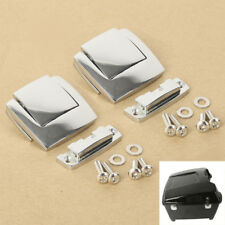 2X Chrome Latches Tour Pack Pak Fit Harley Classic Electra Glide Ultra 80-13 11