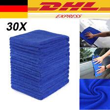 30X Mikrofasertücher Auto Reinigung Poliertuch Microfasertuch DHL