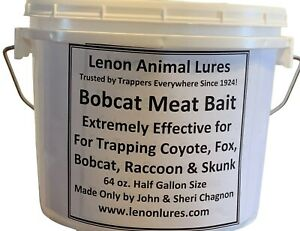 bobcat traps trapping fox 3 Piece PREDATOR BAIT PACK coyote