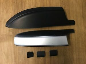 KIA SEDONA MK3 06-13 O/S DRIVER SIDE ROOF BAR COVER TRIMS SET SILVER 872924J000