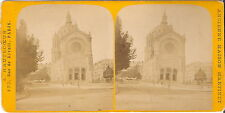 Stereofotografie St-Augustin - Paris 1890er